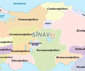 anadoluda 2. beylikler dönemi - sinavex