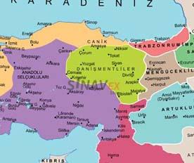 ilk türk beylikleri-1.-beylikler-dönemi-sinavex